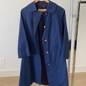 Aquascutum London for Harrod's Vintage Raincoat